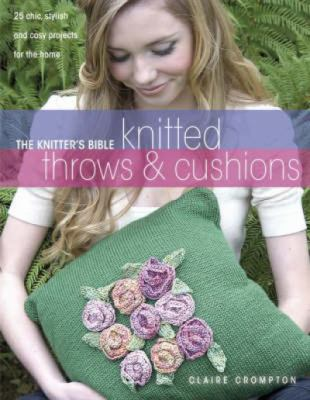 Cover image for Knitted afghans & pillows