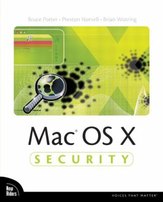 Cover image for Mac OS X security