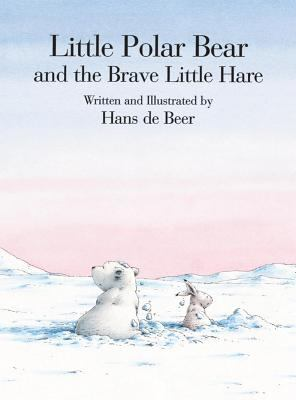 Cover image for Little Polar Bear and the brave little hare