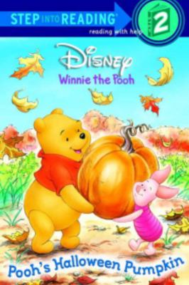 Cover image for Pooh's Halloween pumpkin