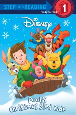 Cover image for Pooh's Christmas sled ride