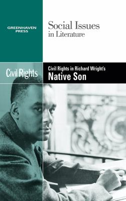 Cover image for Civil rights in Richard Wright's Native son