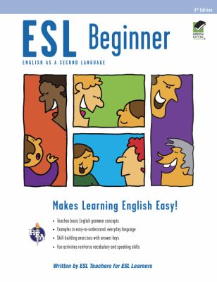 Cover image for ESL beginner : English as a second language