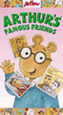 Cover image for Arthur's famous friends