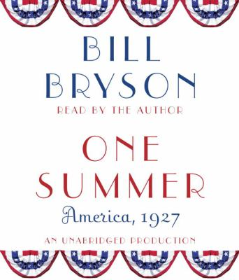Cover image for One summer America, 1927