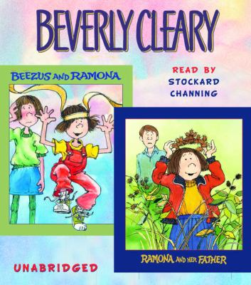 Cover image for Beezus and Ramona Ramona and her father