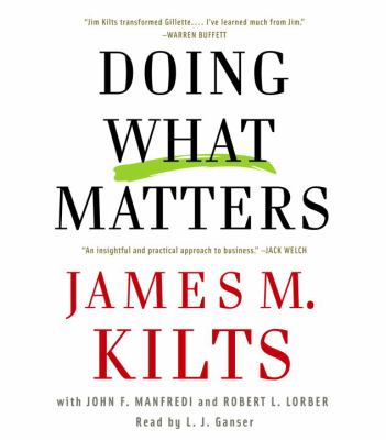 Cover image for Doing what matters