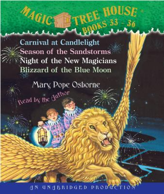 Cover image for Magic tree house. Books 33-36