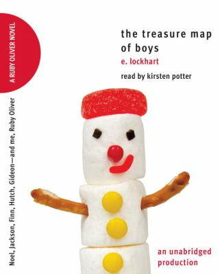 Cover image for The treasure map of boys [Noel, Jackson, Finn, Hutch, Gideon--and me, Ruby Oliver]