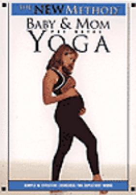 Cover image for Baby & mom yoga. Pre-natal