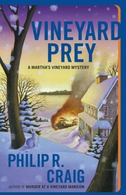 Cover image for Vineyard prey : a Martha's Vineyard mystery