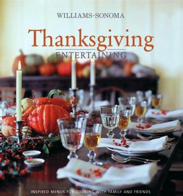 Cover image for Thanksgiving entertaining