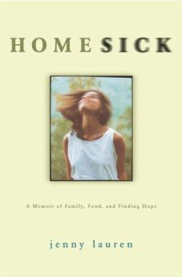 Cover image for Homesick : a memoir of family, food, and finding hope
