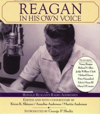 Cover image for Reagan, in his own voice