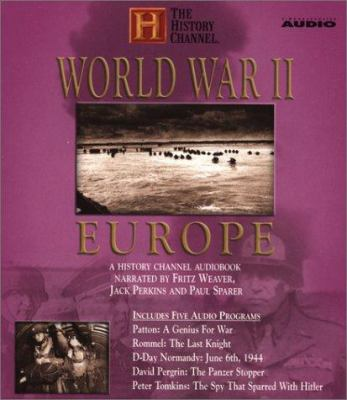 Cover image for World War II, Europe [a History Channel audiobook]