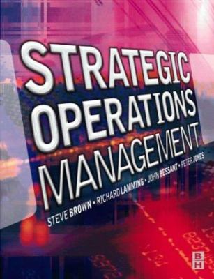 Cover image for Strategic operations management