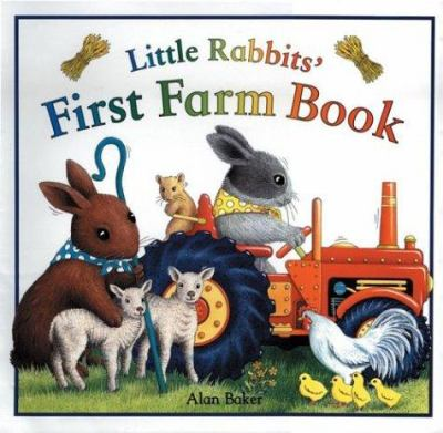 Cover image for Little rabbits' first farm book