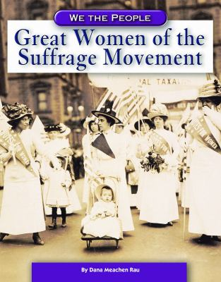 Cover image for Great women of the suffrage movement
