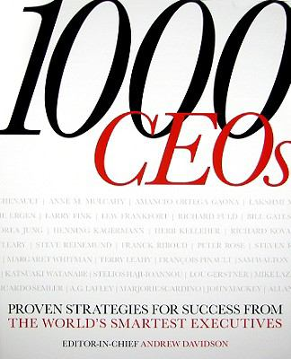 Cover image for 1000 CEOs