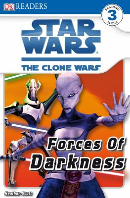 Cover image for Star Wars, the clone wars. Forces of darkness