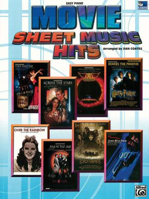Cover image for Movie sheet music hits : easy piano