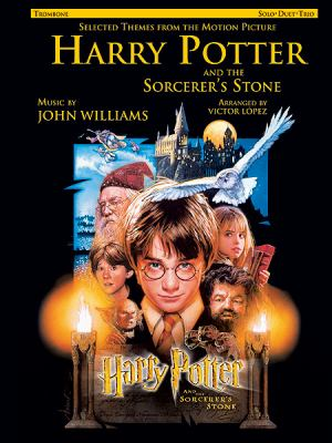 Cover image for Selected themes from the motion picture Harry Potter and the sorcerer's stone : solo, duet, trio : trombone
