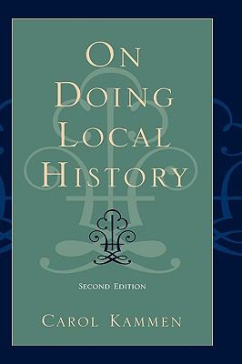Cover image for On doing local history