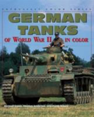 Cover image for German tanks of WW II in color