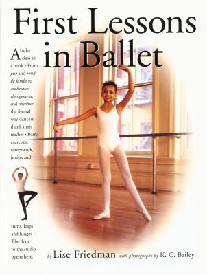 Cover image for First lessons in ballet