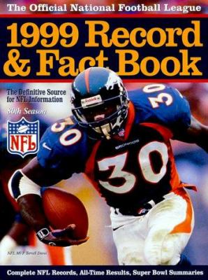 Cover image for Official 1999 National Football League record & fact book.