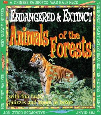 Cover image for Endangered and extinct : prehistoric animals