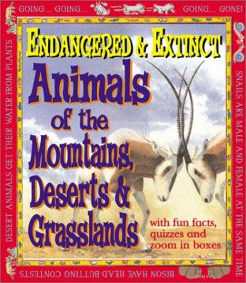 Cover image for Animals of the mountains, deserts, and grasslands