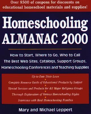 Cover image for Homeschooling almanac, 2000-2001