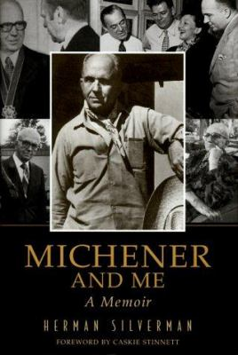 Cover image for Michener and me : a memoir