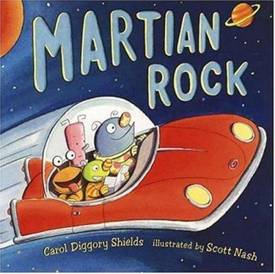 Cover image for Martian rock
