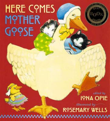 Cover image for Here comes Mother Goose