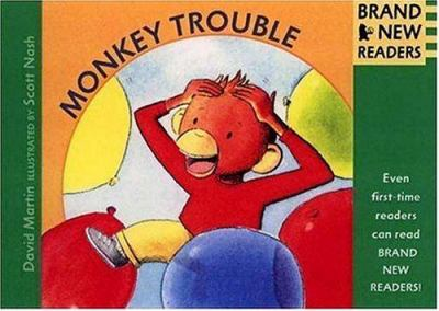 Cover image for Monkey trouble