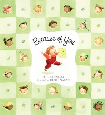 Cover image for Because of you