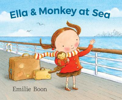 Cover image for Ella & Monkey at sea