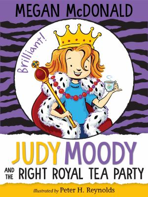 Cover image for Judy Moody and the right royal tea party