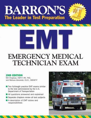 Cover image for Barron's EMT : emergency medical technician exam