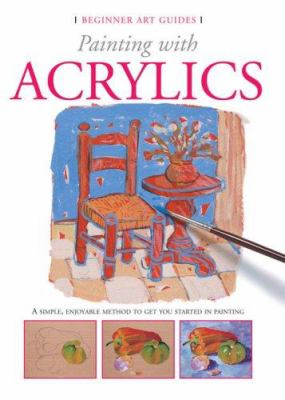 Cover image for Painting with acrylics
