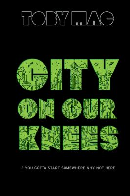 Cover image for City on our knees : two worlds collide in a beautiful display