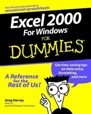 Cover image for Excel 2000 for Windows for dummies