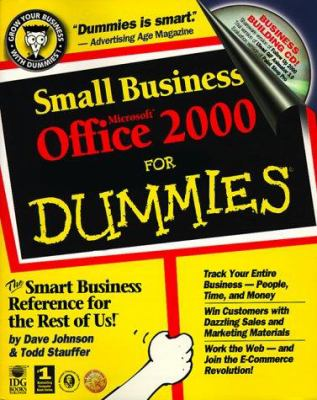 Cover image for Small business Microsoft Office 2000 for dummies