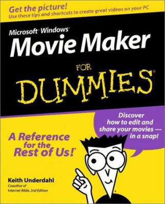 Cover image for Microsoft Windows Movie Maker for dummies