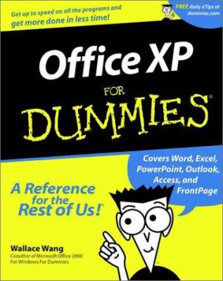 Cover image for Office XP for dummies