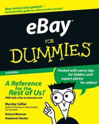 Cover image for eBay for dummies