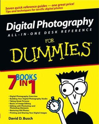 Cover image for Digital photography all-in-one desk reference for dummies