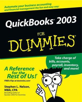 Cover image for QuickBooks 2003 for dummies